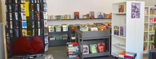 bibliothèque à Chinon