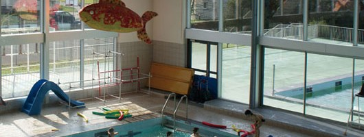 La piscine G Daydé à Chinon