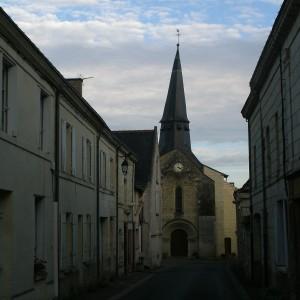 Le bourg de Lerné