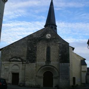 L'église de Lerné
