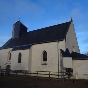 L'église de Couziers