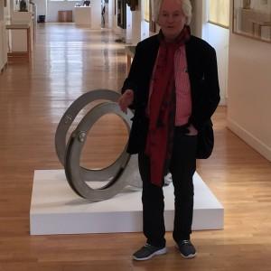 Albert Benamou à la galerie de l'hôtel de ville