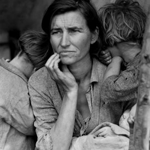 © Dorothea Lange, Migrant Mother  February/March 1936