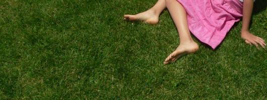 pied herbe