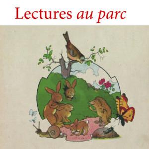 Lectures au parc à Avoine