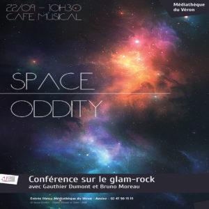 Space Oddity : La Conférence sur le Glam-Rock