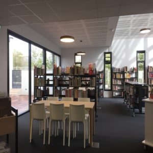 bibliothèque le patio