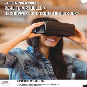 Atelier numérique : Découvrez le casque Oculus Go