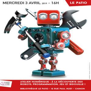 Atelier numérique : Robots, programmation, jeux et bidouille !