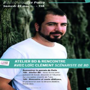 Rencontre et atelier avec Loïc Clément