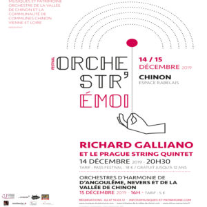 Festival Orchestr'émoi : Richard Galliano à Chinon
