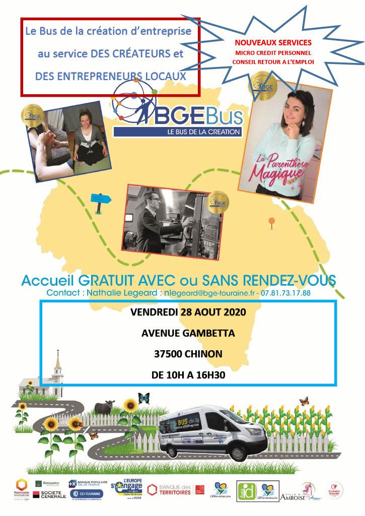 BGE Bus, le bus au service des créateurs et entrepreneurs locaux !