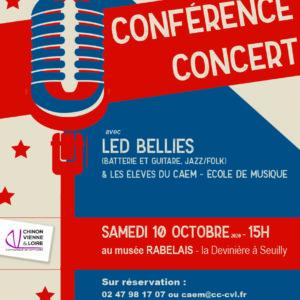 Conférence concert avec Led Bellies
