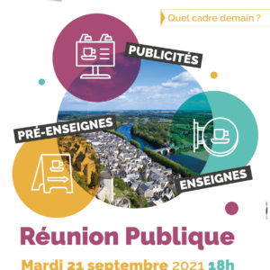 Réunion publique sur le Règlement Local de Publicité intercommunal (RLPi)